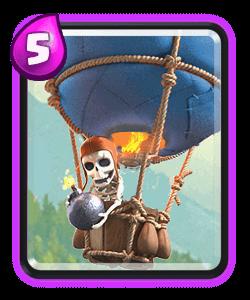 Clash Royale Clashvania Ballon